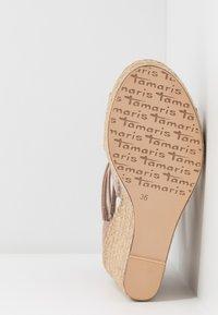 Tamaris - High Heel Sandalette - pepper - 6