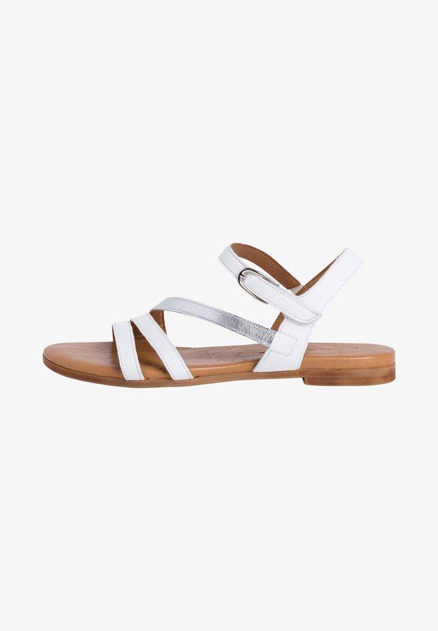 TAMARIS SANDALE - Sandalen - white/silver