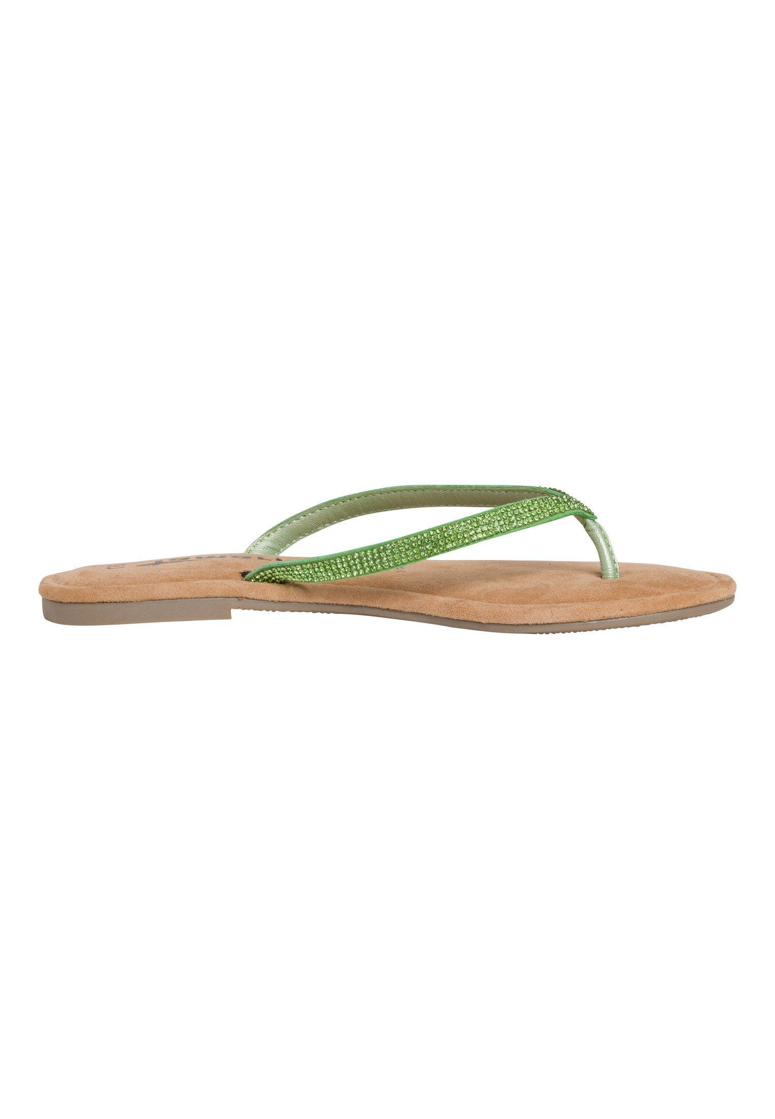Tamaris TAMARIS ZEHENTRENNER - T-bar sandals - green