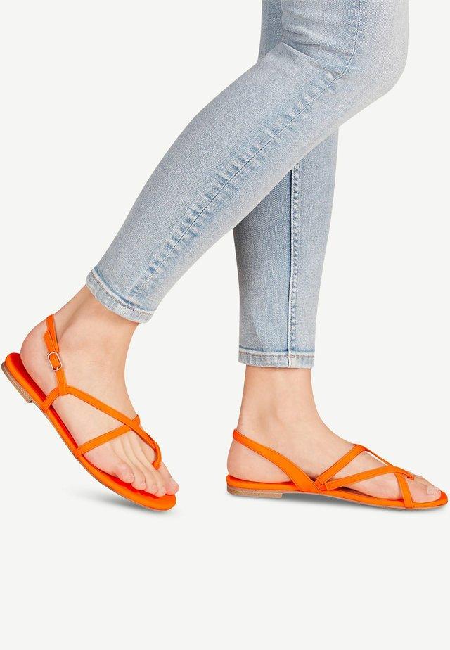 Teensandalen - orange neon
