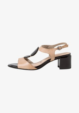 TAMARIS SANDALETTE - Sandals - ivory