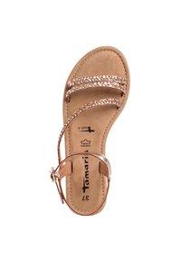 Tamaris - Sandals - copper woven - 1