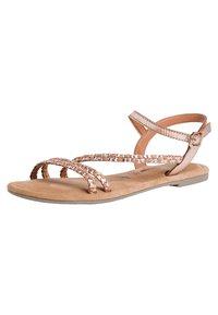 Tamaris - Sandals - copper woven - 2
