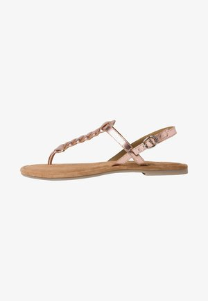Teensandalen - pink metallic