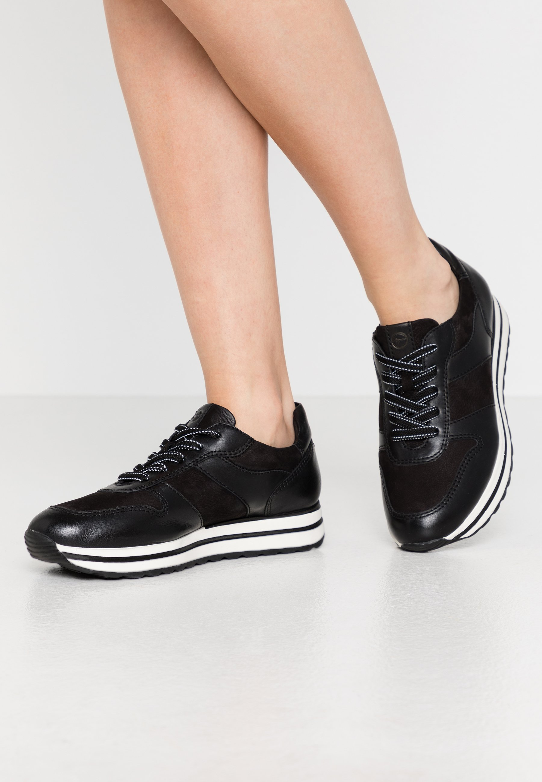 LACE UP Sneakers laag black