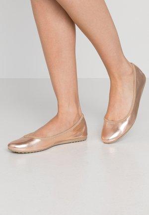 Ballet pumps - rose metallic