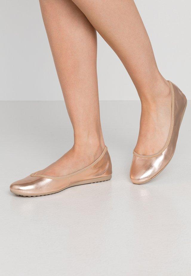 Ballerina's - rose metallic