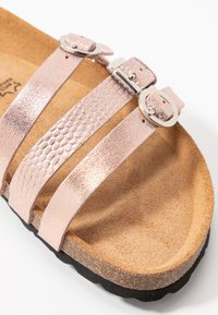 Tamaris - SLIDES - Slippers - rose gold - 2