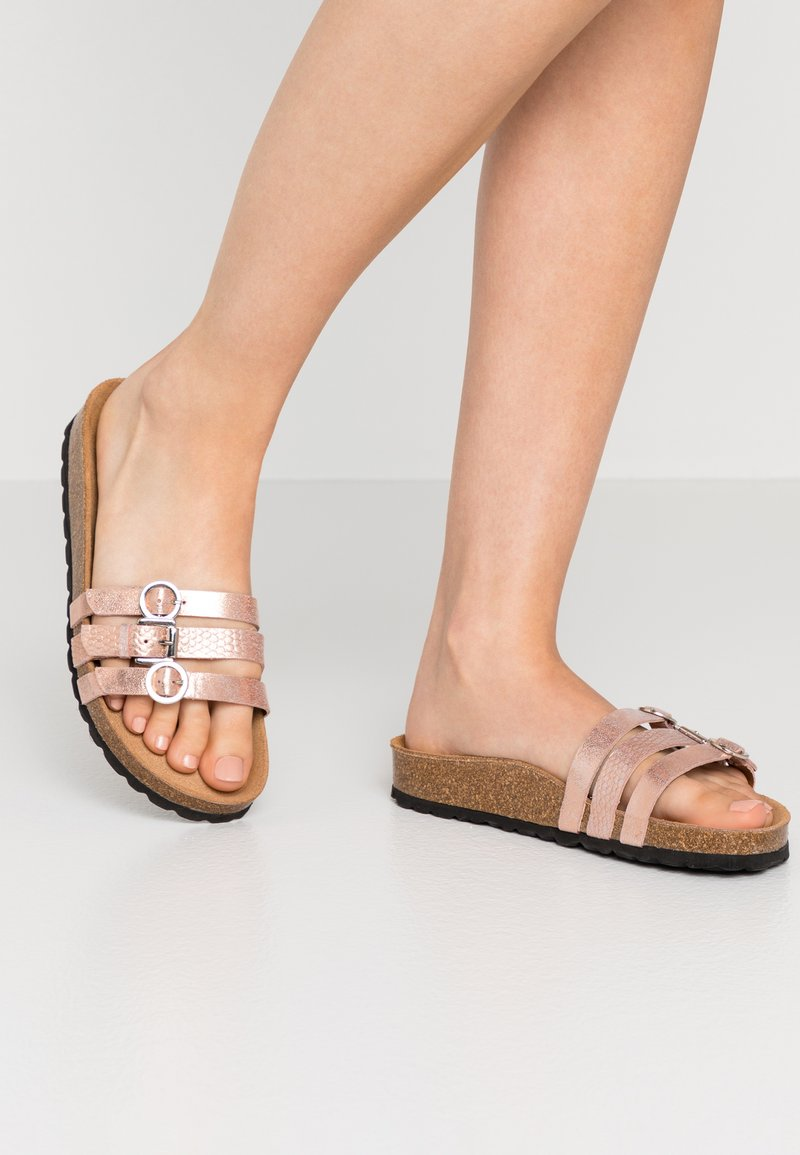 Tamaris - SLIDES - Slippers - rose gold