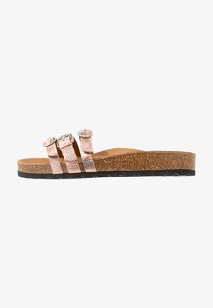 SLIDES - Chaussons - rose gold