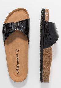 Tamaris - SLIDES - Slippers - black - 3