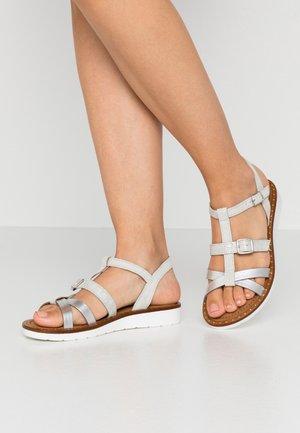 Sandals - grey/silver