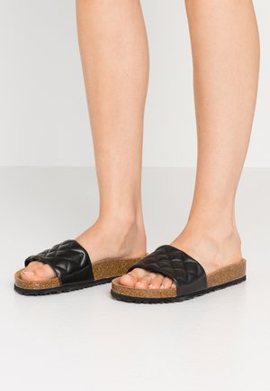 SLIDES - Pantoffels - black