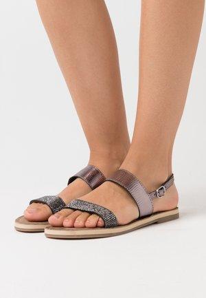Sandaler - pewter glam