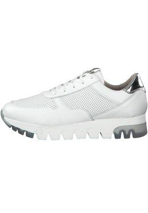 Sneakers laag - wht lea/silver