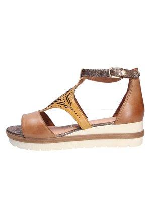 Sandalen met sleehak - safpeanutc