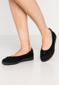 Tamaris - Ballet pumps - black - 0