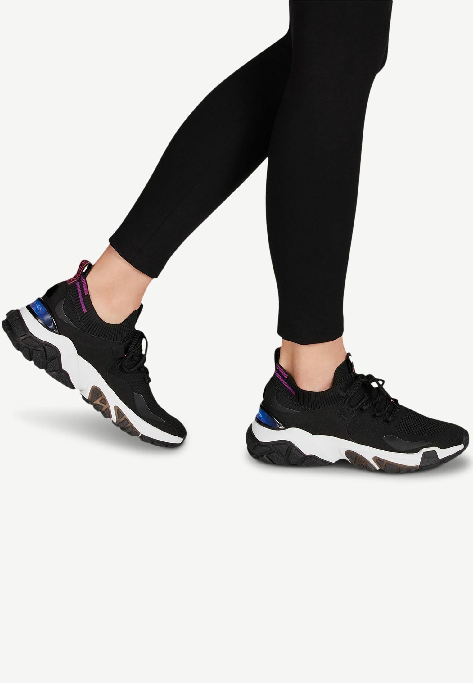 Gutes Angebot Tamaris Sneaker low - black | Damenbekleidung 2020