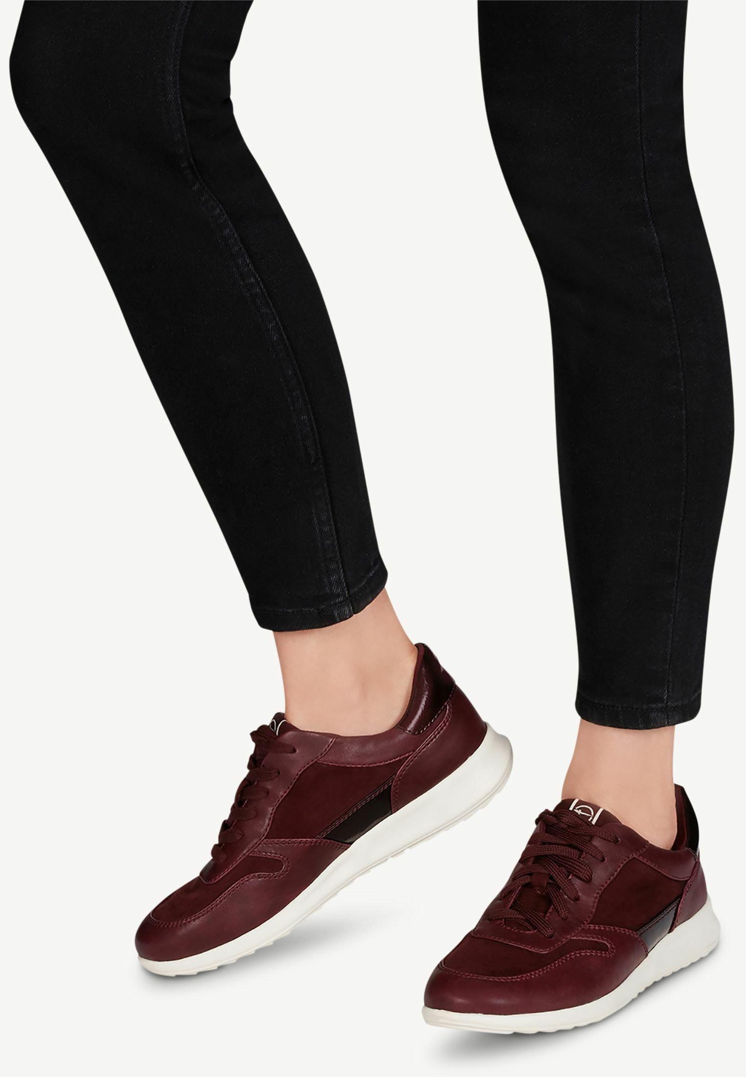 Gutes Angebot Tamaris Sneaker low - merlot | Damenbekleidung 2020