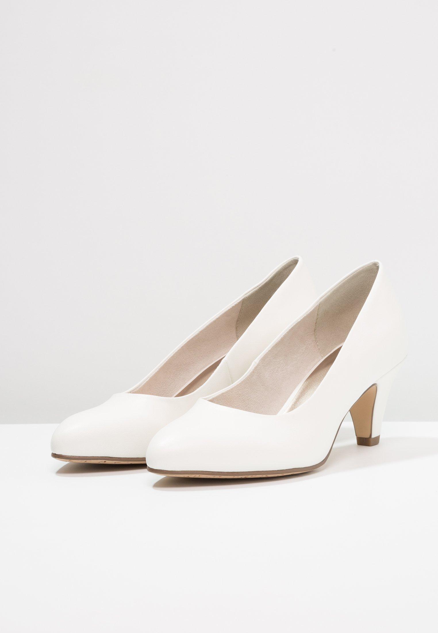Tamaris Escarpins white matt