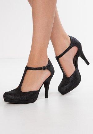 High heels - black glam
