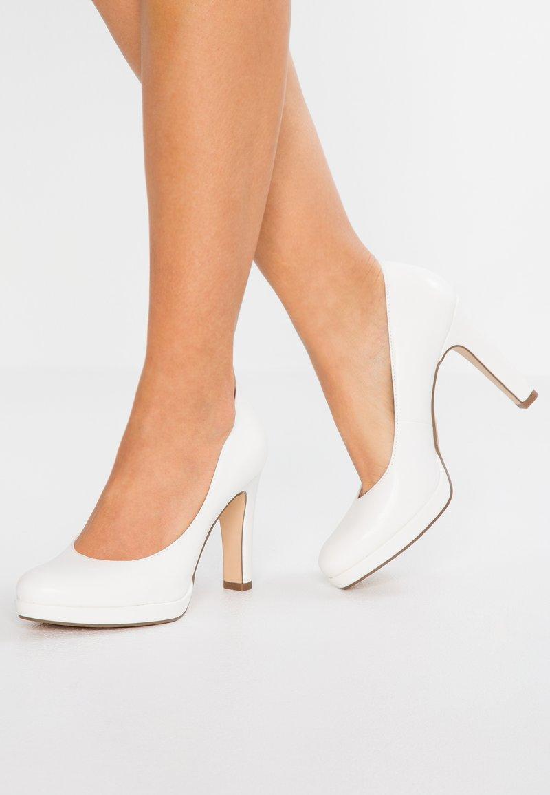 Tamaris - High heels - white matt