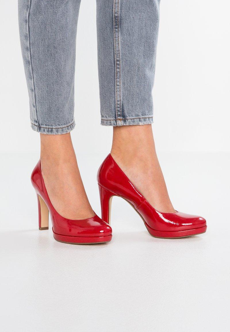 Tamaris - High Heel Pumps - chili