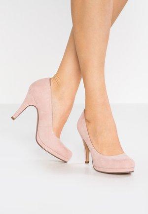 Klassiska pumps - rose