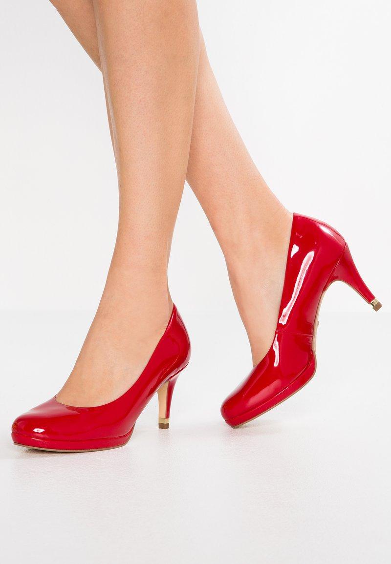 Tamaris - Platform heels - chili
