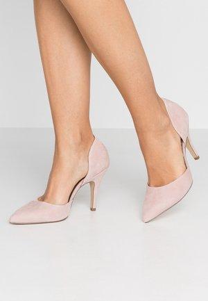 Høye hæler - rose