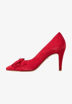 Zapatos altos - lipstick