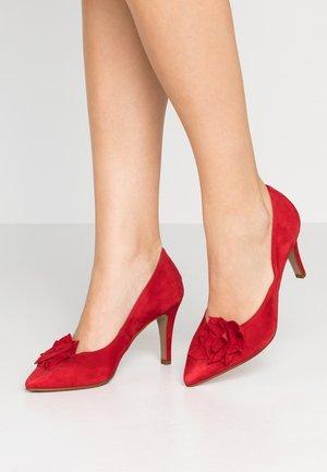 High heels - lipstick