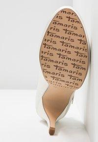 Tamaris - Korolliset avokkaat - ivory - 6