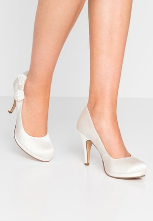 High Heel Pumps - ivory