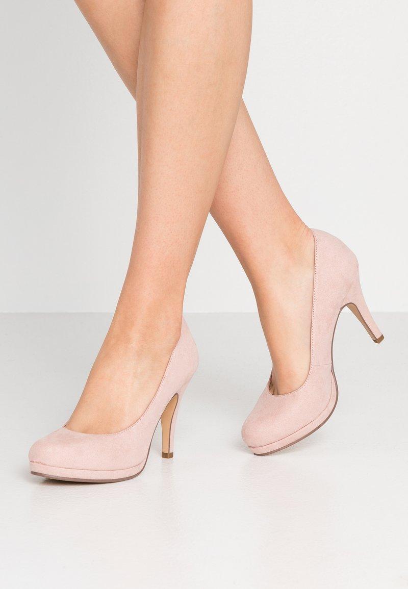 Tamaris - Zapatos altos - rose