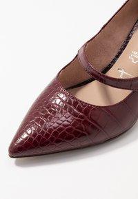 Tamaris - Classic heels - merlot - 2