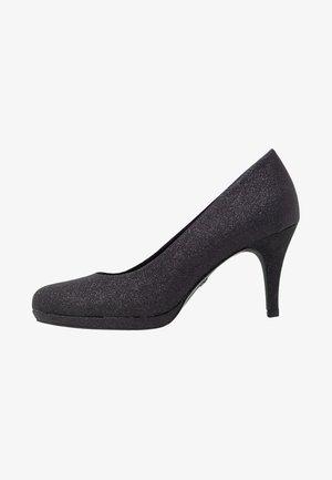 Klassiske pumps - black glam