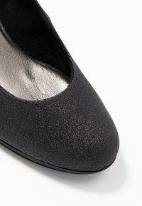 Tamaris - Classic heels - black glam - 2