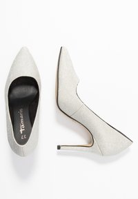 Tamaris - Klassiska pumps - silver glam - 3