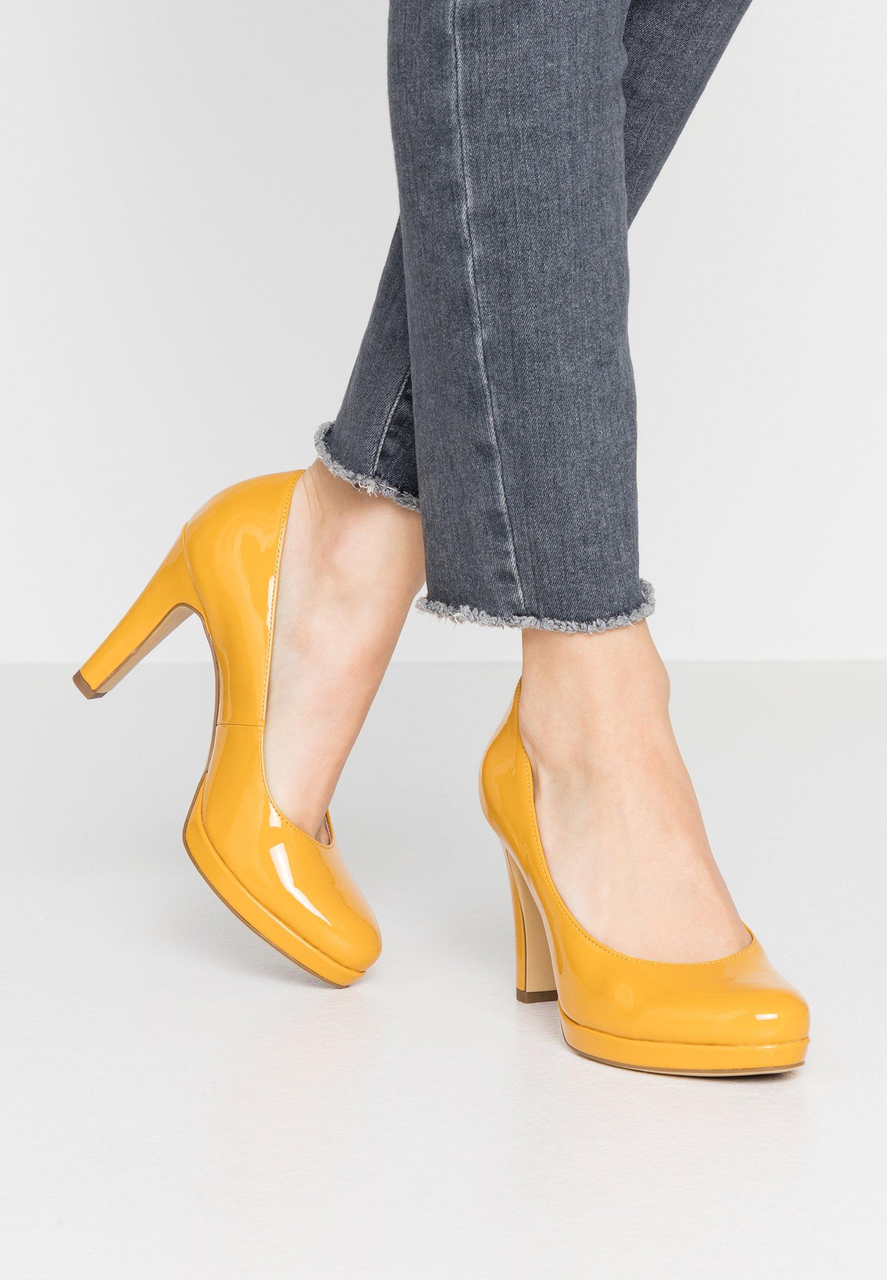 Tamaris DA.-PUMPS - Klassiska pumps - saffron