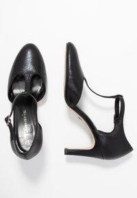Tamaris - Classic heels - black metallic - 3