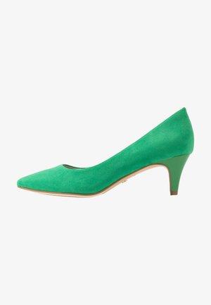 Tacones - emerald