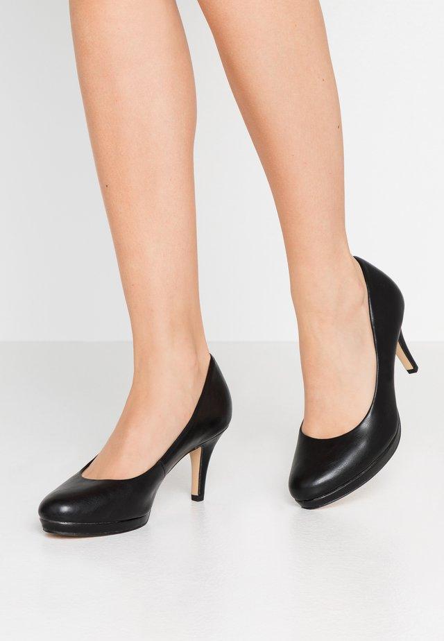 Classic heels - black matt