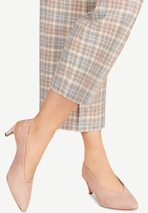 1-1-29502-24 - Classic heels - old rose
