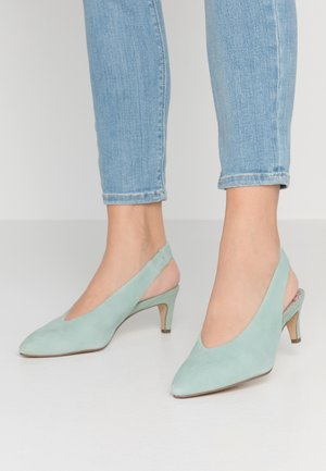 1-1-29502-24 - Klassiske pumps - mint