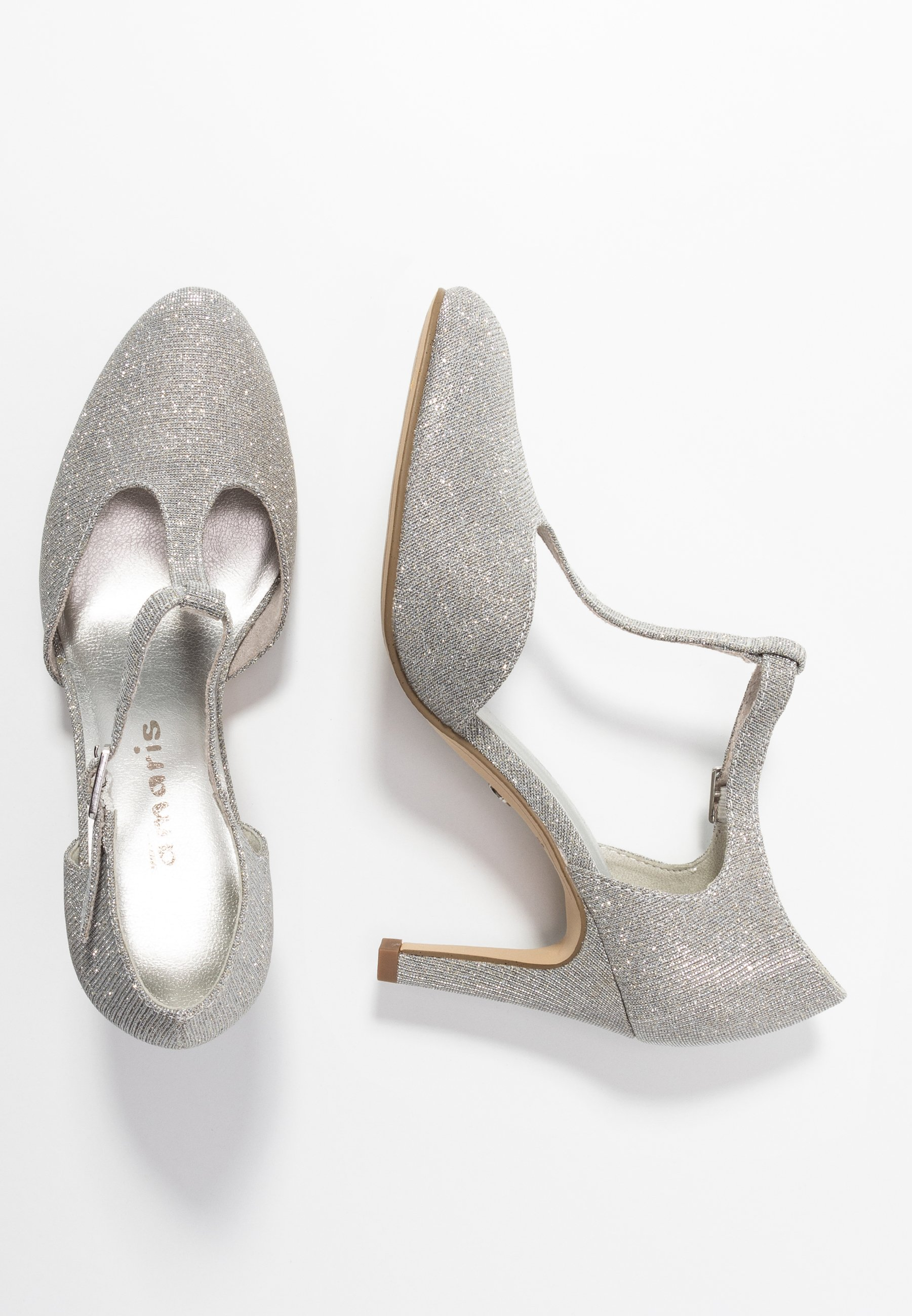 Tamaris Czółenka - silver glam