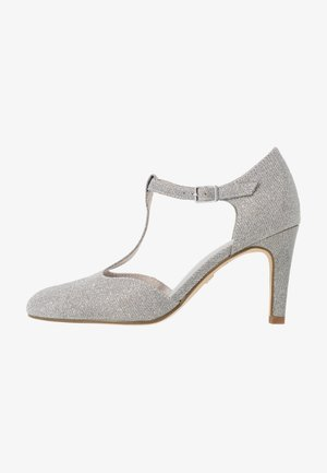 Pumps - silver glam