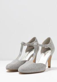 Tamaris - Classic heels - silver glam - 4