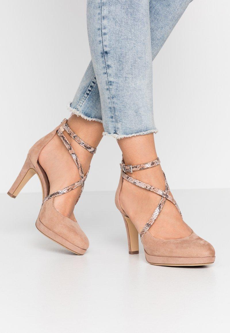 Tamaris - High heels - old rose