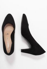 Tamaris - COURT SHOE - Classic heels - black - 3